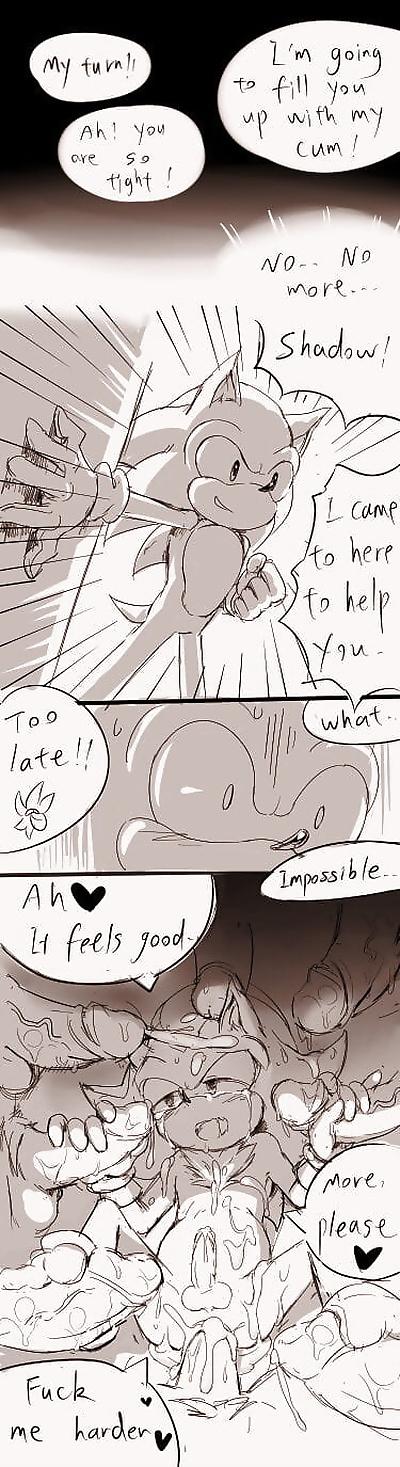 Shadow comic