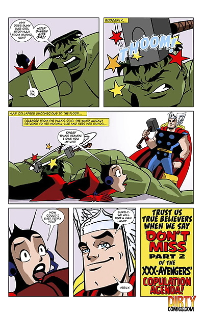 Dirtycomics- The Mighty..