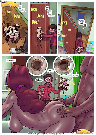 Milftoon- Marco Vs the..
