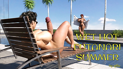 Cjflo- Wet Hot Futanari Summer
