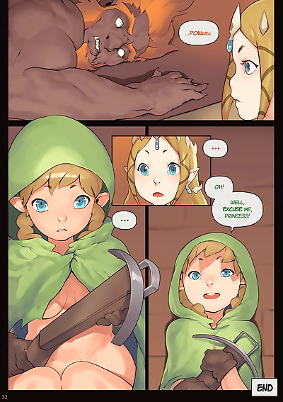Norasuko Zelda - A Linkle to..